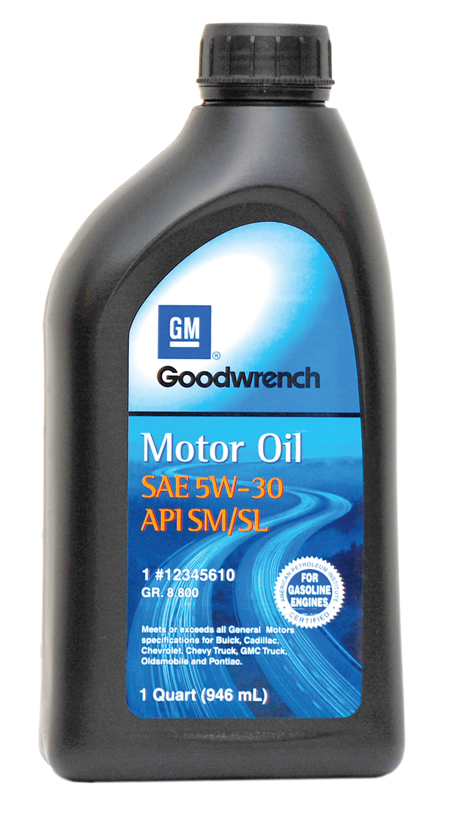 GM Goodwrench Motor Oil 5W-30